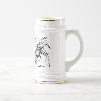 Floral explosion… beer stein