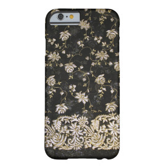 Floral Fabric Textile Design Barely There iPhone 6 Case
