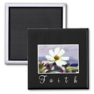 floral faith magnet