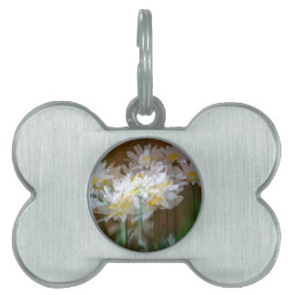 Floral Fantasies Pet ID Tag