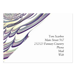 Floral Fantasy 02 Pack Of Chubby Business Cards