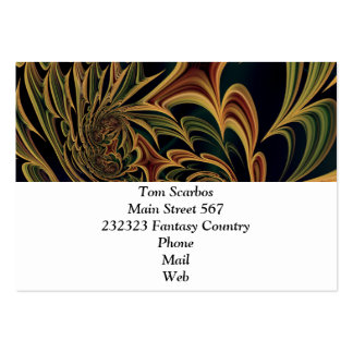 Floral Fantasy 03 Pack Of Chubby Business Cards