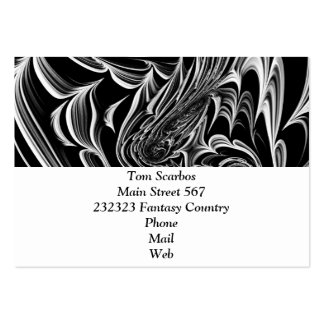 Floral Fantasy 09 Pack Of Chubby Business Cards