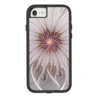 Floral Fantasy, Abstract Modern Pastel Flower Case-Mate Tough Extreme iPhone 8/7 Case