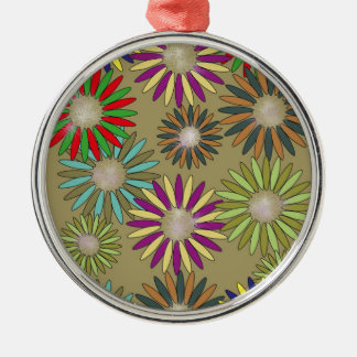Floral Fantasy Metal Ornament
