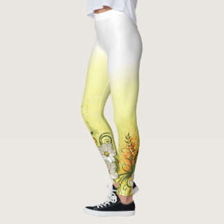 Floral Fashion 9 Option Leggings
