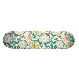 Floral Feud Custom Skateboard