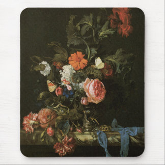 Floral Fine Art with Roses Mouse Pad