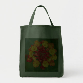 Floral Fireworks Grocery Tote Tote Bag