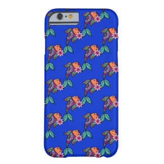 Floral Fish Pattern iPhone 6 Case