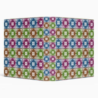 Floral Flourish Three Ring Binder