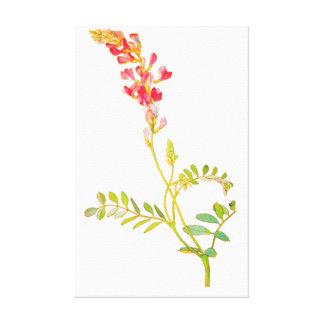 FLORAL FLOWER CANVAS PRINT