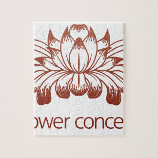 Floral Flower Design Concept Icon Jigsaw Puzzle