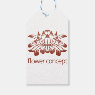 Floral Flower Design Concept Icon Pack Of Gift Tags