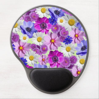 Floral Flowers Blossoms Vines Destiny Destiny's Gel Mouse Pad
