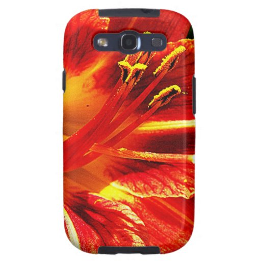 Floral Flowers Colours Art Artistic Beautiful fine Galaxy SIII Case