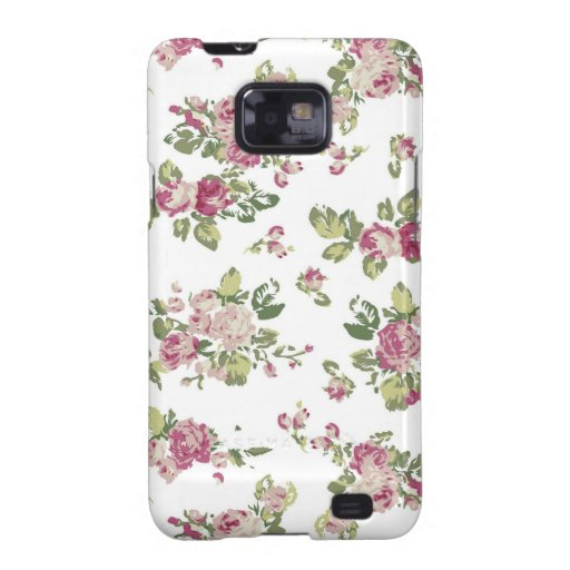 Floral Flowers Colours Art Artistic Beautiful fine Samsung Galaxy SII Cases