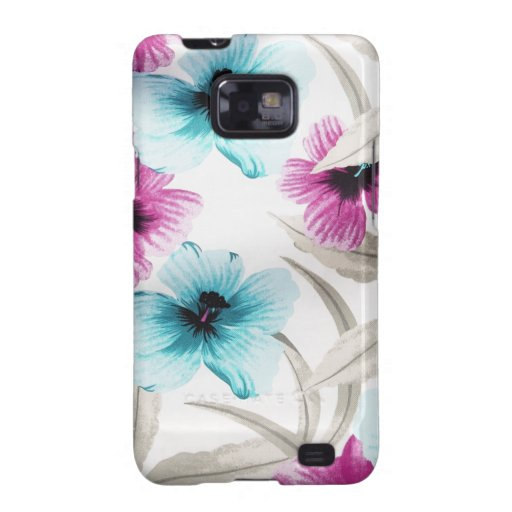 Floral Flowers Colours Art Artistic Beautiful fine Galaxy S2 Covers