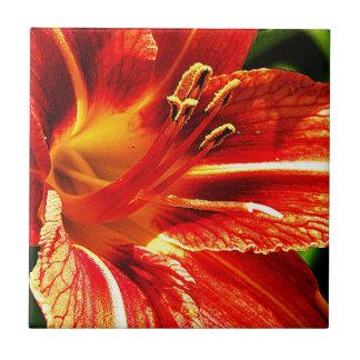 Floral Flowers Colours Art Artistic Beautiful fine Ceramic Tile