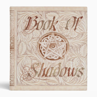 Floral Flurry Mandala Witches Book Of Shadows 3 Ring Binder