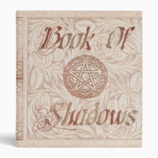 Floral Flurry Mandala Witches Book Of Shadows Vinyl Binders