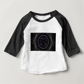 Floral Fractal Baby T-Shirt