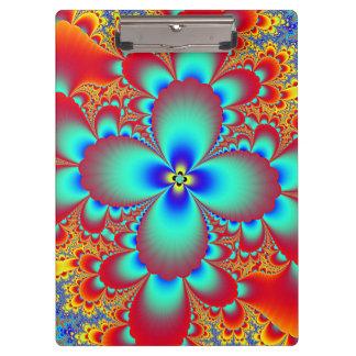 Floral Fractal Clipboard