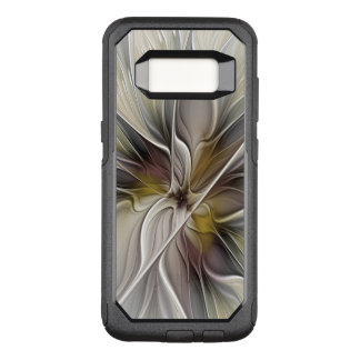 Floral Fractal, Fantasy Flower with Earth Colors OtterBox Commuter Samsung Galaxy S8 Case