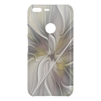 Floral Fractal, Fantasy Flower with Earth Colors Uncommon Google Pixel XL Case