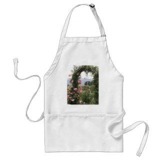Floral Garden Arch Standard Apron