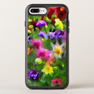 Floral Garden Flowers Abstract OtterBox Symmetry iPhone 7 Plus Case