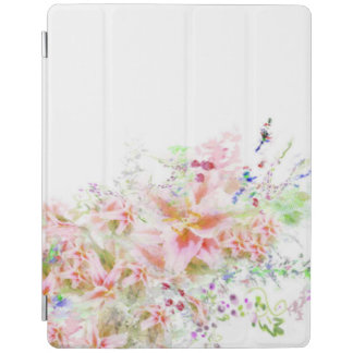 Floral Garden Watercolour I Pad Case iPad Cover