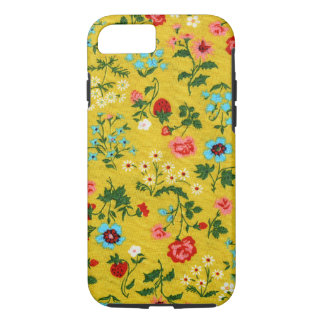 Floral Girly Summer Yellow Tiny Flowers Flora iPhone 7 Case