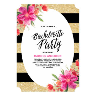 Plan a Bachelorette Party with perfect invitations