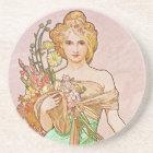 Floral Goddess Coaster