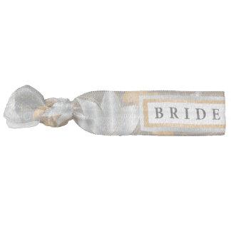 Floral Gold & Silver - Bridesmaid Hair Tie