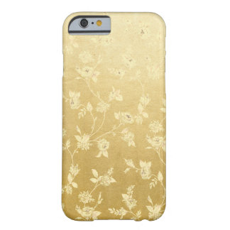 Floral Golden Pattern iPhone Case