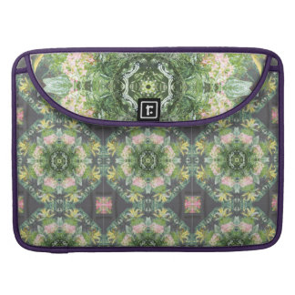 Floral Gone Wild Rickshaw Macbook Pro Sleeve
