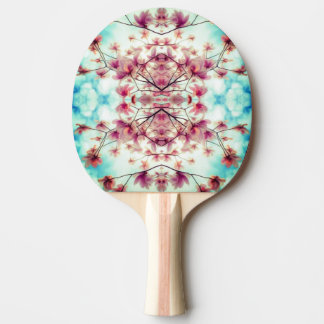 Floral Graphic Pattern Ping Pong Paddle