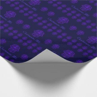Floral Hamsa (Purple)