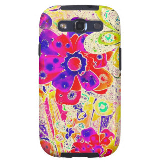 Floral happy time galaxy s3 case