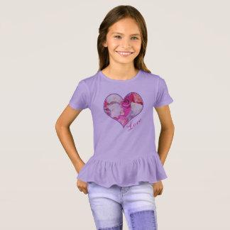 Floral Heart Love T-Shirt
