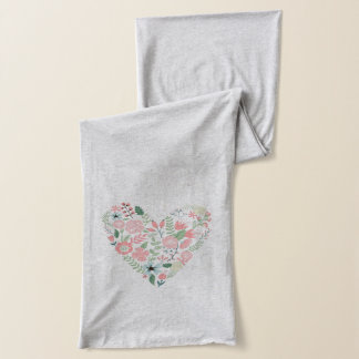 Floral Heart Scarf