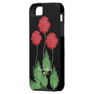 Floral Heirloom Exotic Black iphone 5 case