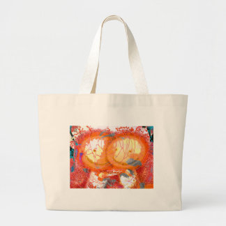 ©Floral Hugs By Catherine Lott Large Tote Bag