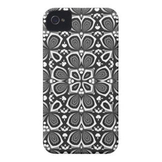 Floral Illusions Pattern iPhone 4 Case-Mate