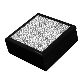 Floral Illustration Pattern Gift Boxes