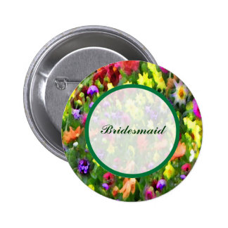 Floral Impressions Bridesmaid Pin