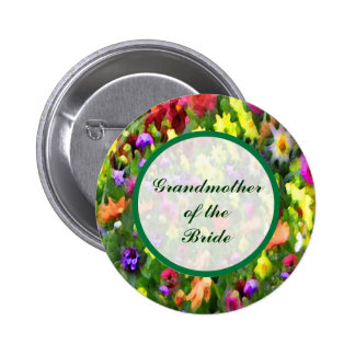 Floral Impressions Grandmother of the Bride Pin