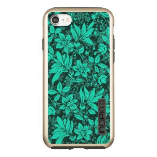 Floral iPhone 7 DualPro Shine, Gold Incipio DualPro Shine iPhone 8/7 Case